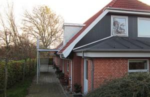 Rækkehus på Borgmester Hansensvej, Kerteminde
